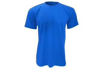 B&C Mens Exact 150 Short Sleeve T-Shirt (Royal) (S)