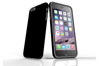 Black For iPhone 6S Plus Tough Case  Back Protective Cover