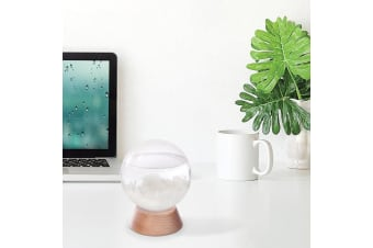 Crystal Ball Storm Glass Weather Station | Predict the Weather!