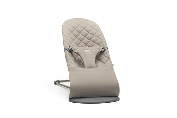 BabyBjorn Bouncer Bliss (Sand Grey/Cotton)