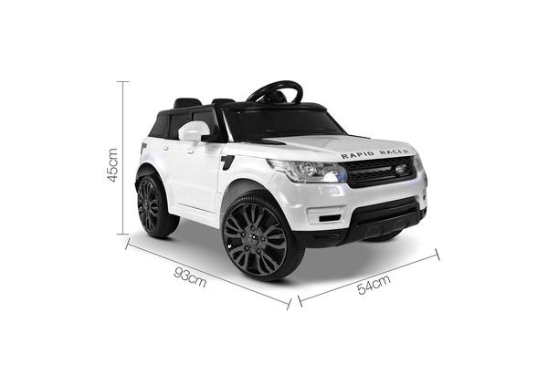Kids Ride On Range Rover (White)