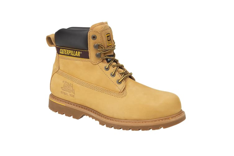 Caterpillar Holton S3 Safety Boot / Mens Boots / Boots Safety (Honey) (12 UK)