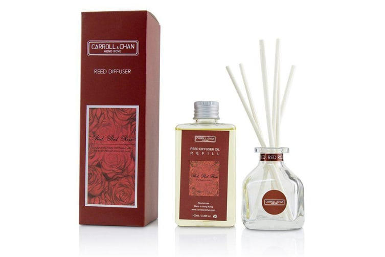 Carroll & Chan Reed Diffuser - Red Red Rose 100ml/3.38oz