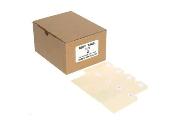 Globe Manilla Tags No.2 82 x 41mm Box 1000