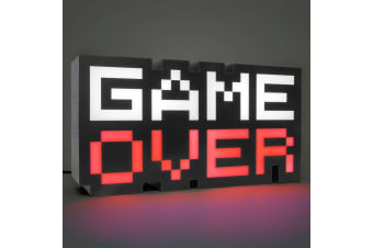 8-Bit Game Over Colour Changing Sound Reactive Light