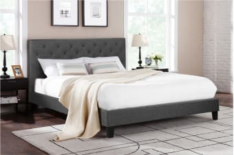 Shangri-La Bed Frame - Sorrento Collection (Dark Grey)