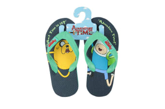 Adventure Time Childrens/Kids Finn And Jake Flip Flops (Multicoloured)