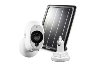 Swann Smart Security Camera Kit - 1080p Full HD Wireless Security Camera with Solar Panel & Outdoor Mounting Stand (SWWHD-INTCMSOLSTD)