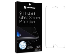For iPhone 8 PLUS 7 PLUS Screen Protector iCoverLover Unbreakable Hybrid Glass