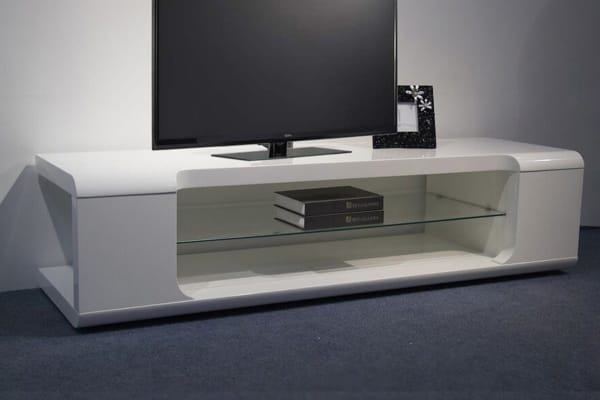 Apex TV Cabinet (White)