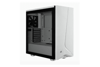 Corsair Carbide SPEC-06 White Tempered Glass Solid ATX Mid-Tower Case