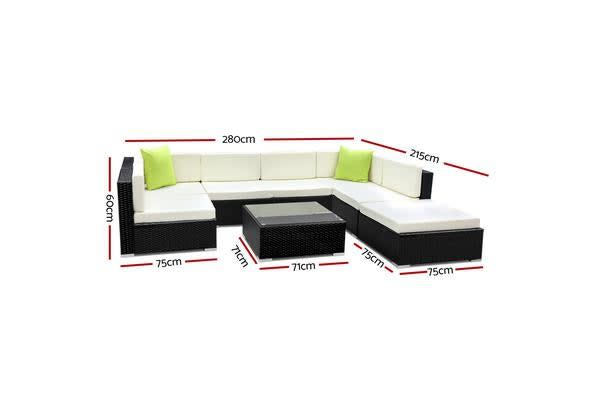Gardeon 8 Piece Outdoor Furniture Set