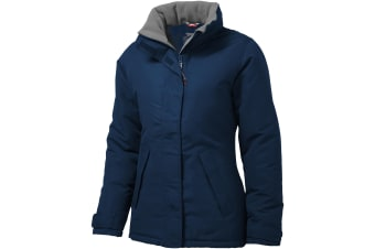 Slazenger Womens/Ladies Under Spin Insulated Jacket (Navy) (M)
