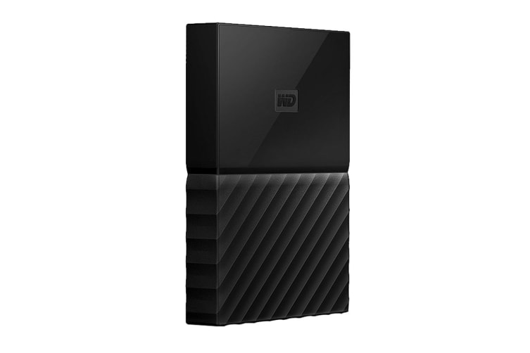 WD My Passport for MAC 4TB Portable Hard Drive (WDBP6A0040BBK-WESE)