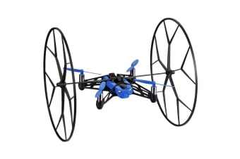 PARROT MINIDRONE ROLLING SPIDER BLUE MINI DRONE RECHARGABLE CAMERA ATTACHED NEW