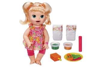 Baby Alive Super Snackin' Sara Doll -  Blonde