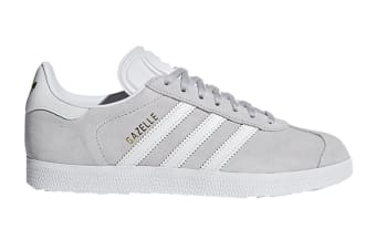 Adidas Originals Women's Gazelle Shoe (Grey/White, Size 8.5 UK)