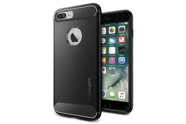 Spigen iPhone 8 Plus /7 Plus Rugged Armor Case Black