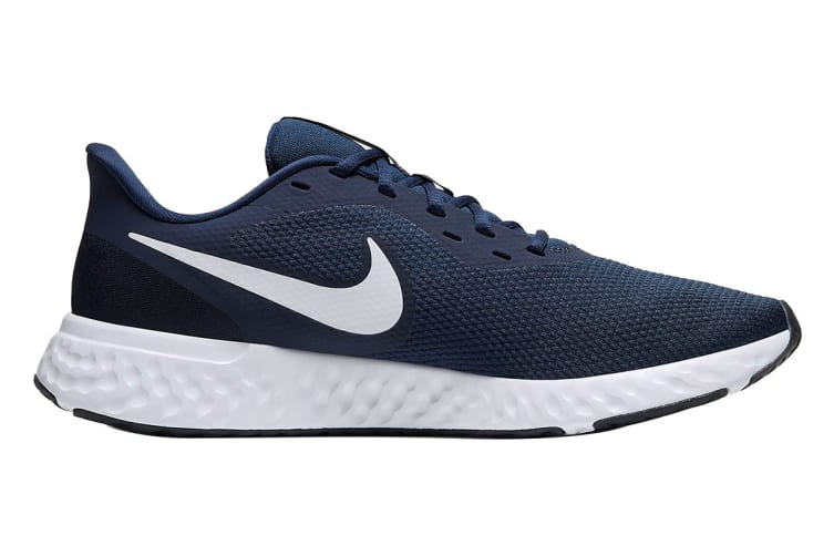 Nike Men's Revolution 5 Shoes (Navy Blue/White, Size 8.5 US)