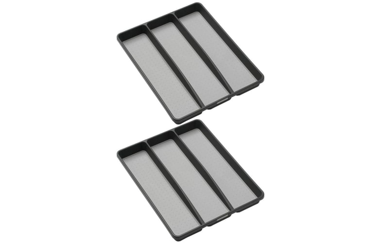 Dick Smith 2x Madesmart Utensil Cutlery Tray For Kitchen Knife