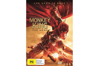 Monkey King Hero Is Back DVD Region 4