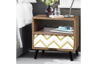 Artiss Bedside Tables Drawers Side Table Storage Cabinet Nightstand Wood Unit