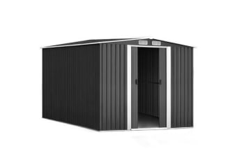 2.6x3.1x2M Cheap Shed Garden Storage Sheds Outdoor Workshop Metal w/f Roof