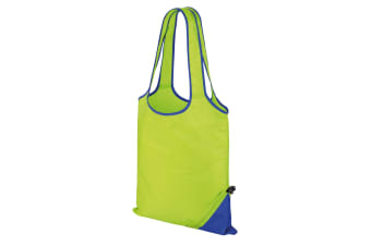 Result Core Compact Shopping Bag (Pack of 2) (Lime/Royal) (One Size)