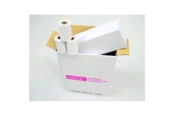 Calibor RO5738T Thermal Plain Paper Roll 57x38mm eftpos THERMAL Paper 5x10s BOXED 50 rolls in total