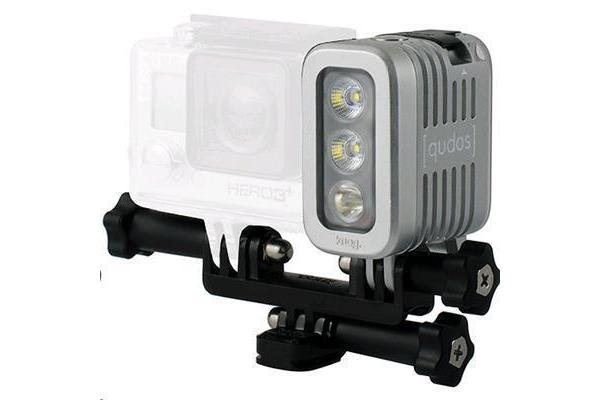 Qudos Action High powered video light (Silver)