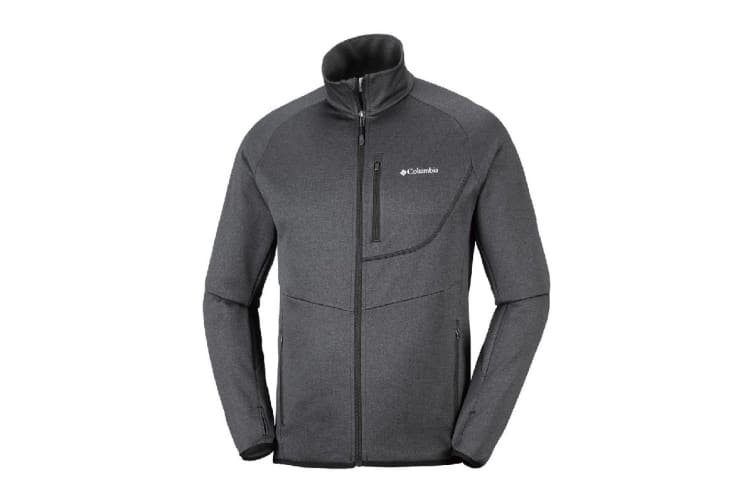 Columbia Drammen Point Full Zip Fleece (Black, Size M)