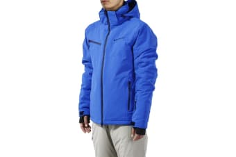 Komodo Mens Snow Jacket (Blue, Medium)