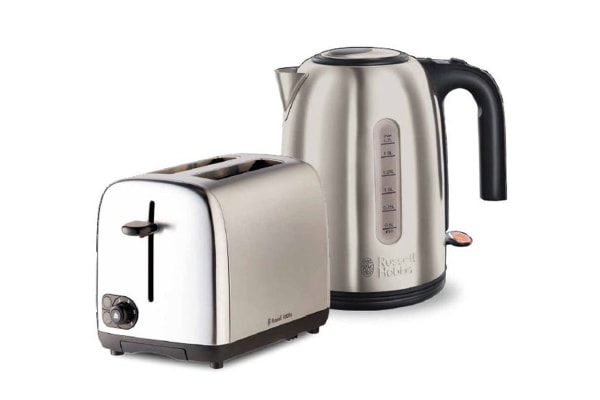 Russell Hobbs Cambridge Breakfast Pack with Toaster & Kettle (RHBP4)