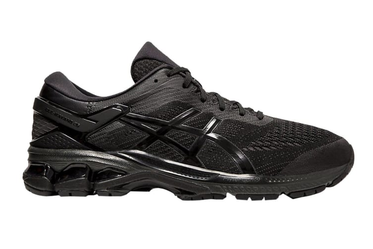 ASICS Men's Gel-Kayano 26 (2E) Running Shoe (Black/Black, Size 12 US)