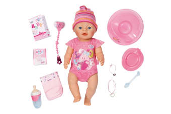 Baby Born Interactive Doll (Pink)