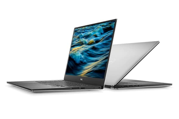 "Dell XPS 15 9570 15.6"" 4K Touch Screen Laptop (i5-8300H, GTX 1050 Ti, 8GB RAM, 256GB, Silver) - Certified Refurbished"