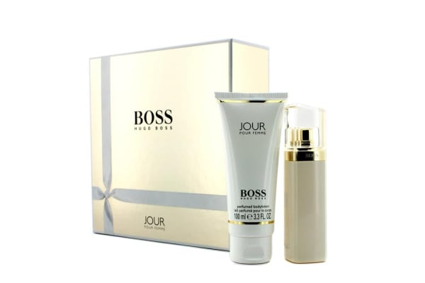 Hugo Boss Boss Jour Coffret: Eau De Parfum Spray 50ml/1.6oz + Body Lotion 100ml/3.3oz (2pcs)