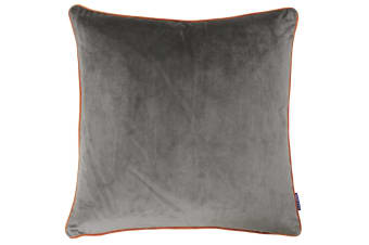 Paoletti Meridian Cushion Cover (Mocha/Pumpkin)