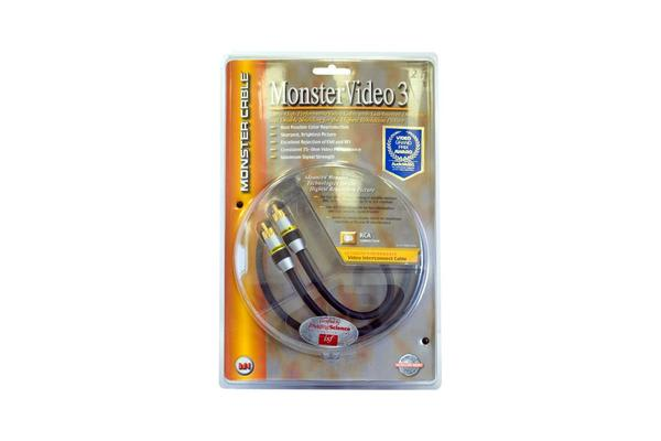 Monster 2M Monster 1X Rca Video Lead