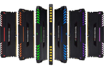 Corsair Vengeance RGB 32GB (4x8GB) DDR4 3000MHz C16 Desktop Gaming Memory