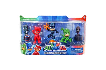 PJ Masks Collectible Figures Set - 5 Pack, Wave 2