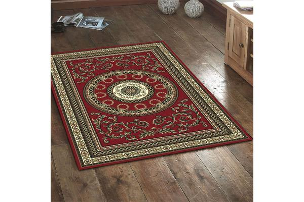 Classic Pattern Rug - Red 230x160cm