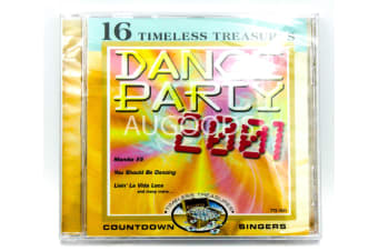 Dance Party 2001 by The Countdown Singers - 16 Timeless Treasures CD NEW SEALED