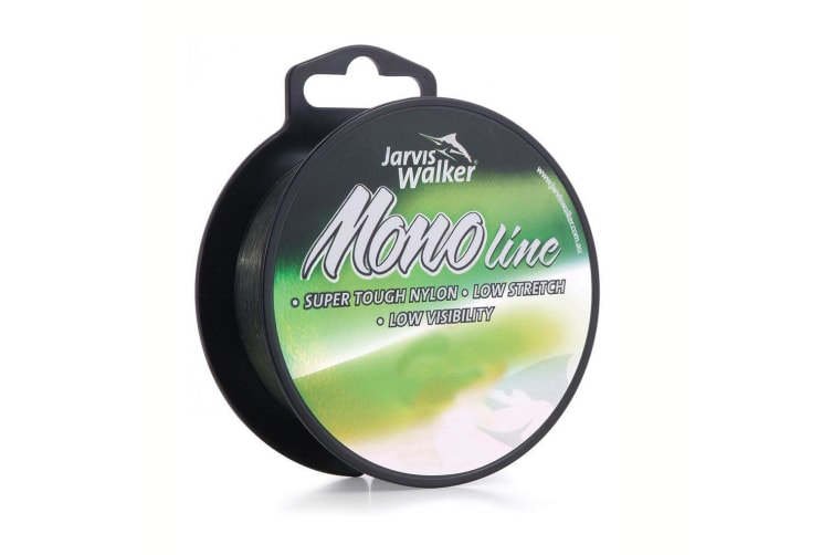 300m Spool of Jarvis Walker Monofilament Fishing Line - Dark Green Mono Line [Breaking Strain: 9lb]