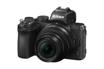 Nikon Z50 Mirrorless Digital Camera with 16-50mm Lens Kit