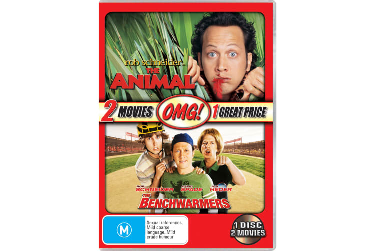 The Animal / The Benchwarmers DVD Region 4
