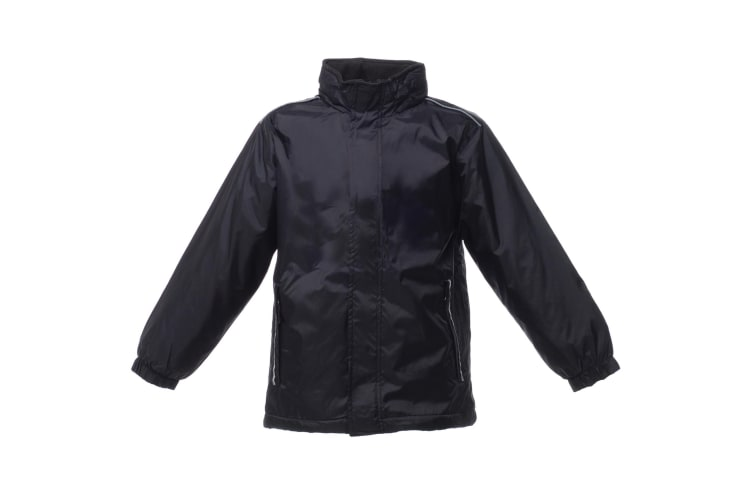 Regatta Kids Unisex 250 Series Fleece Lined Fresher Jacket (Black) (5-6)