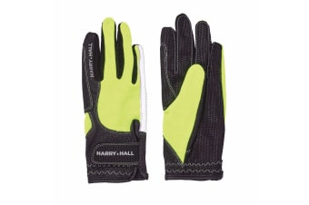 Harry Hall Adults Unisex Lockton Gloves (Yellow)