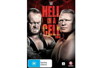 WWE Hell In A Cell 2015 DVD R4 Region 4 Brand New - Rare- Aus Stock DVD NEW