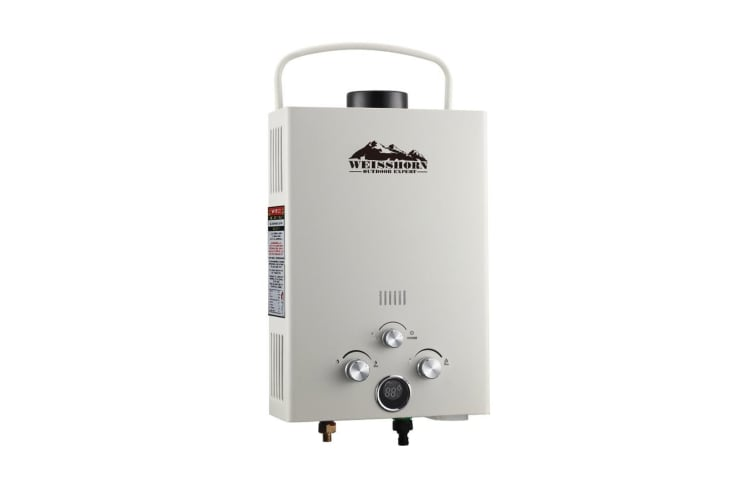 Weisshorn Gas Hot Water Heater Portable Shower Camping LPG Outdoor Instant 4WD Holidays